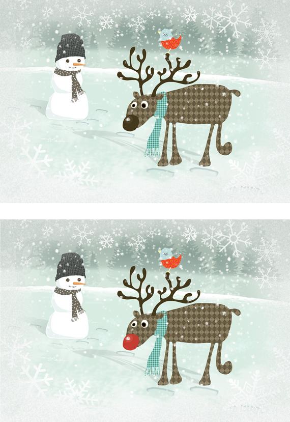 Rudolf med röda mulen -eller inte