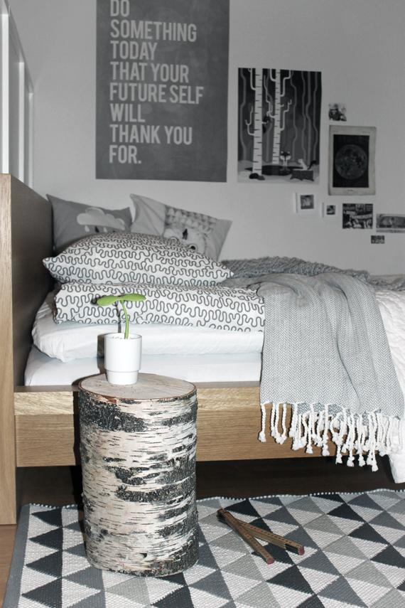 Stubbe som sängbord
