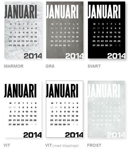 Gratis kalenderblad hos miramoln.se
